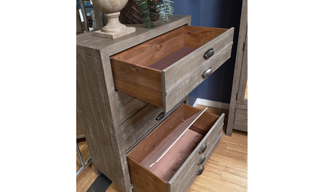 Radiata River Rock 4-Drawer Chest