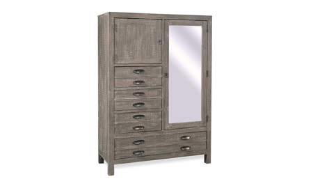 Radiata River Rock 4-Drawer Chiffarobe