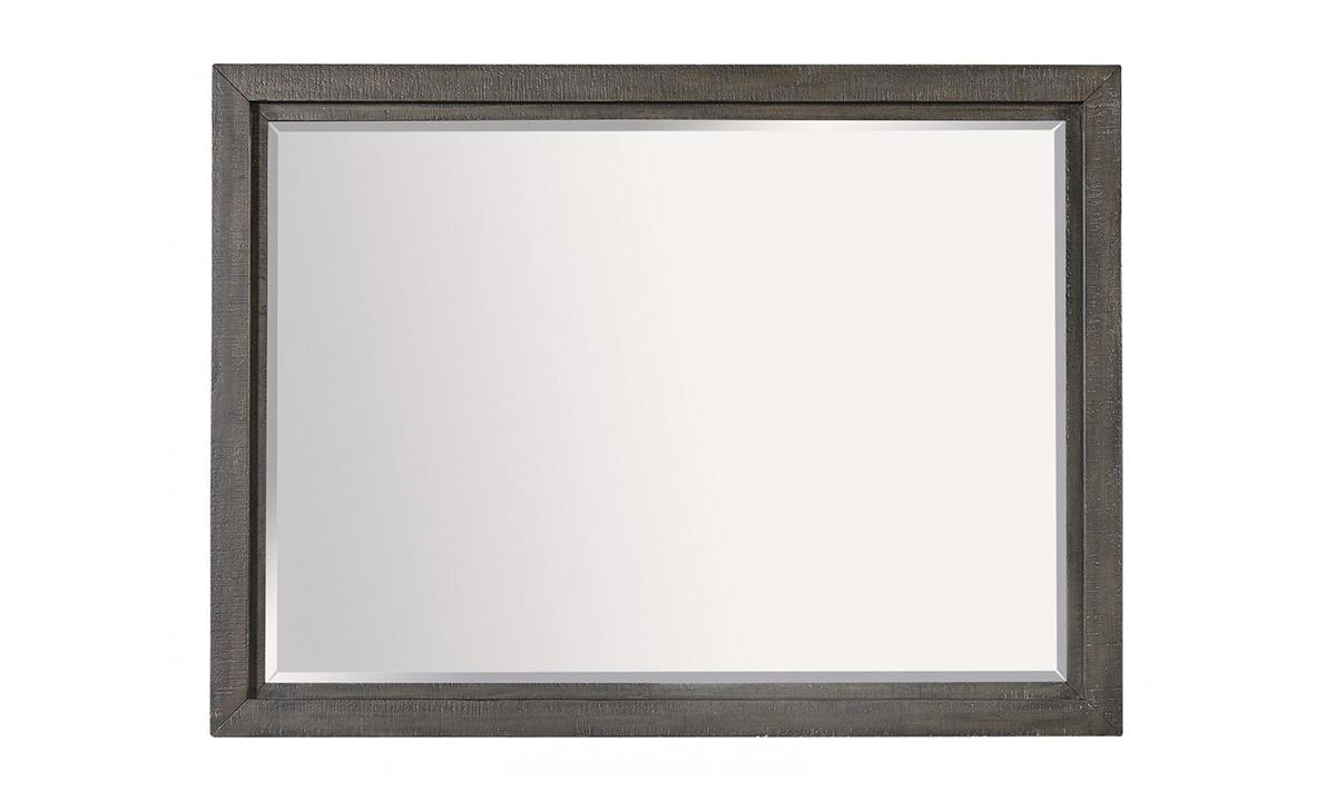 Radiata Brown Landscape Mirror