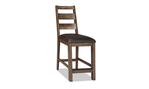 Taos Canyon Brown Counter Height Stool