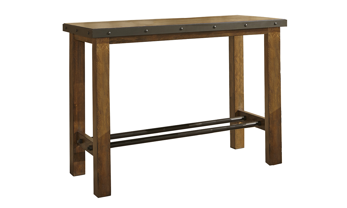Picture of Taos Canyon Brown Bar Table