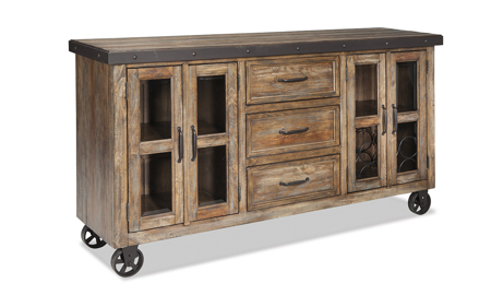 Taos Canyon Brown Sideboard Console