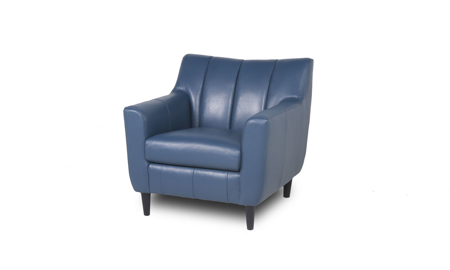 Easton Ocean Leather Arm Chair