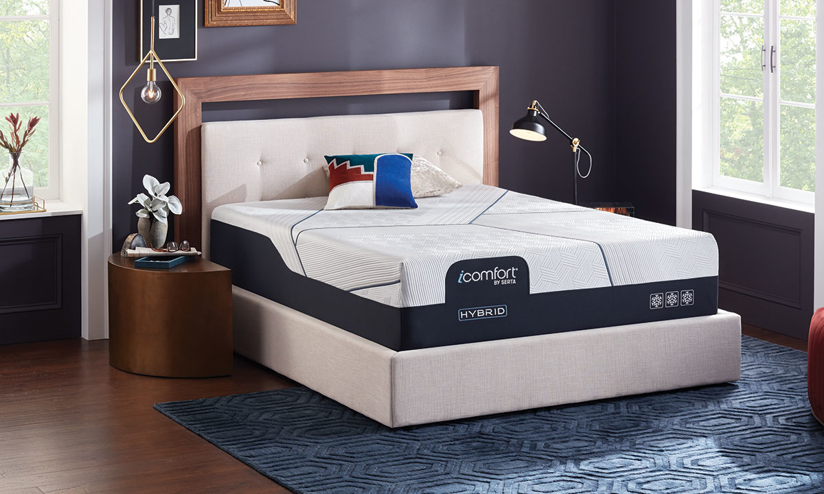 "Picture of Serta iComfort® CF4000 Hybrid Plush 14"" Mattresses"