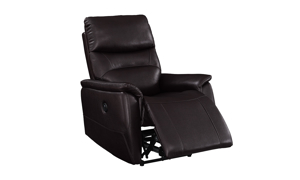 Melissa Roman Walnut Power Recliner