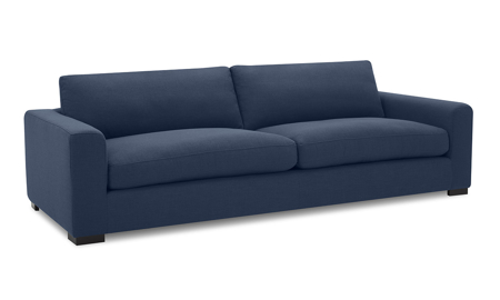 Flanigan Midnight Blue Sofa