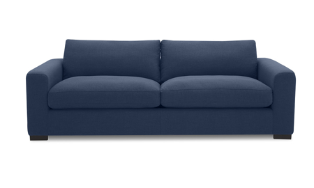 Flanigan Midnight Blue Loveseat