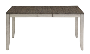 Abacus Alabaster and Honey Dining Table