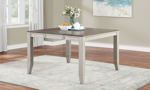 Abacus Alabaster and Honey Counter Height Dining Table