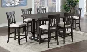Napa Dusky Cedar Counter Height 5-Piece Dining Set