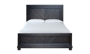 Montana Chevron Brown Panel Beds