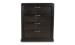 Montana Brown Grey 4-Drawer Chest