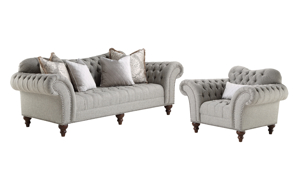 Sauville Cloud Tufted 2-Piece Living Room Set
