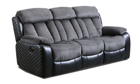 Connor Polo Grey 3-Piece Power Reclining Living Room Set
