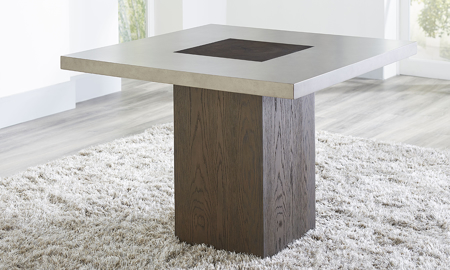 Modesto Square Pedestal Dining Table