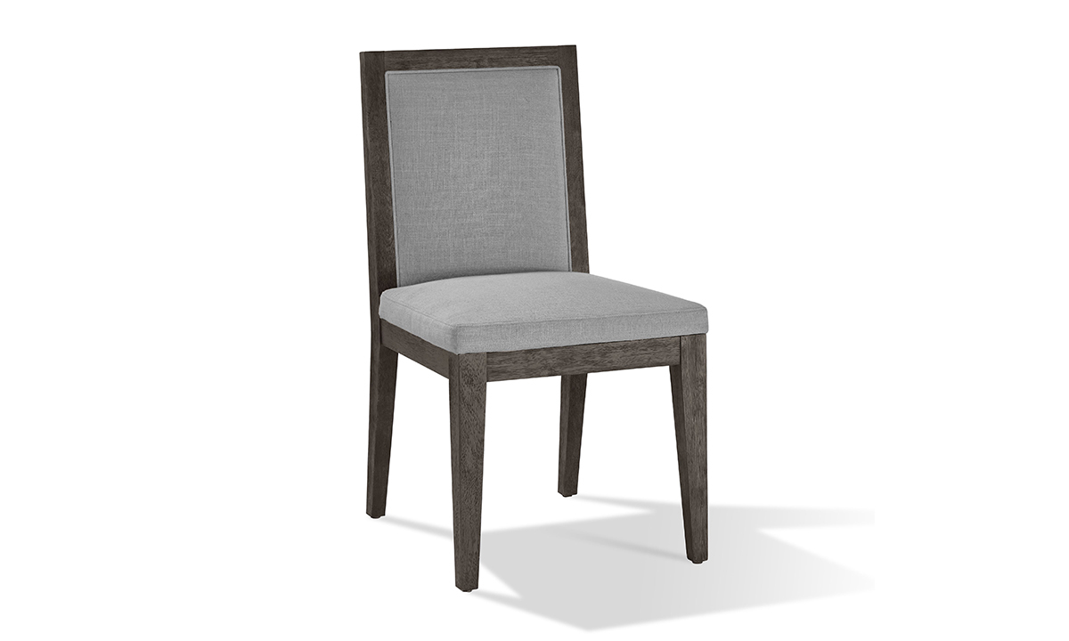 Modesto Grey and Wood Side Chair