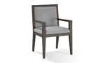 Modesto Grey and Wood Armchair
