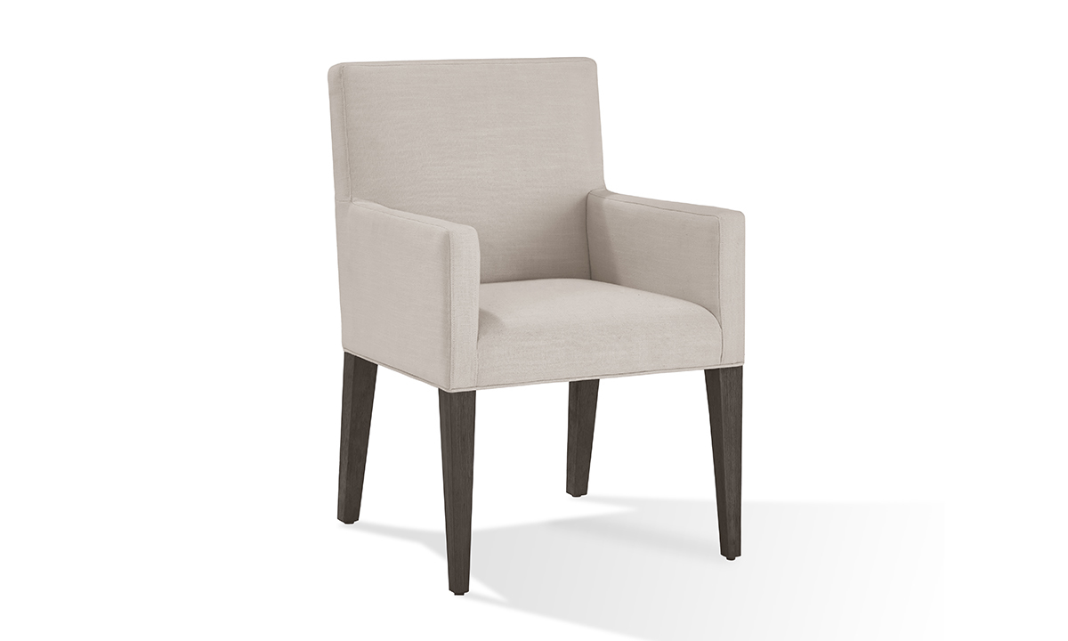 Picture of Modesto Beige Upholstered Armchair