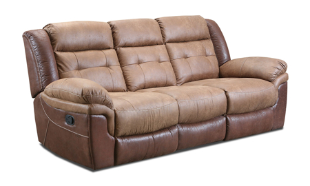 Everett Brown Dual Reclining Sofa