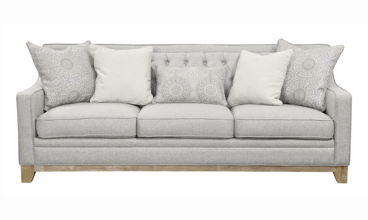Picture of Andorra Grey Tufted Sofa
