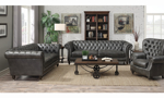 Capone Fossil Grey Chesterfield Sofa