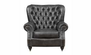 Capone Fossil Grey Armchair