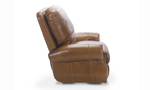 Rocky Mountain Leather Brandy Alligator Top Grain Leather Power Recliner