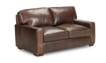 Rocky Mountain Leather Primo Native Loveseat