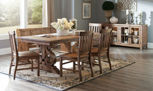 Willoughby Barley 6-Piece Dining Set