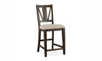 Westley Falls Graphite 7-Piece Counter Height Dining Set