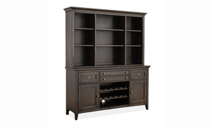 Westley Falls Graphite Dining Cabinet