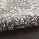 Picture of Damask DAS06 Dark Grey Area Rugs