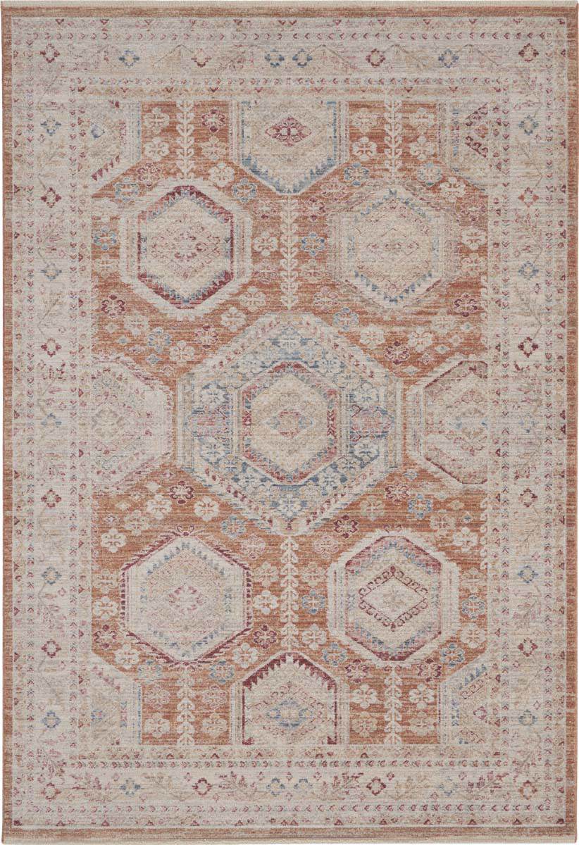 Picture of Homestead HMS01 Brick Area Rugs