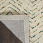 Picture of Colorado CLR02 Ivory & Green Area Rugs