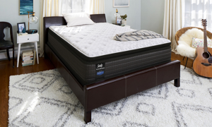 "Sealy Performance™ Achieve 14"" Pillow Top Plush Mattresses"