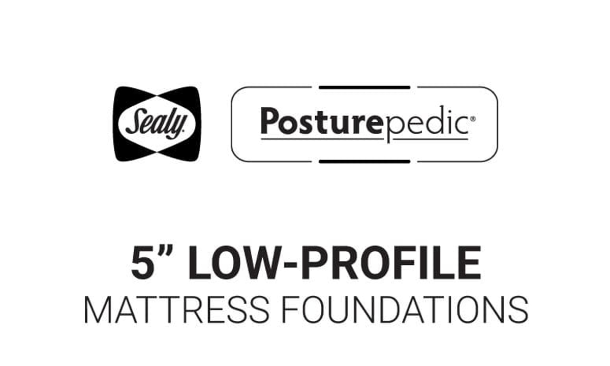 """Sealy 5"""" Low Profile Foundations"""