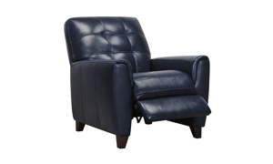 Metro Midnight Leather Recliner
