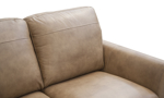 Aquila Camel Leather Sleeper Sofa
