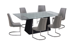 Verona Marble 7-Piece Dining Set