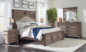 Cardoso Sandstone Panel Bedroom Sets