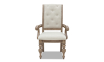 Cardoso Sandstone arm chair from Klaussner featuring an upholstered seat.