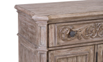 Cardoso Sandstone server from Klaussner with traditional chamfered corners.