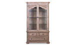 Cardoso Sandstone display cabinet has plenty of storage to display all of your finest china and trinkets.