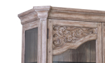 Cardoso Sandstone display cabinet has an old world charm with modern features.