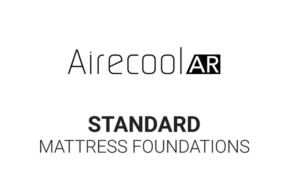 Standard mattress foundations that go with the Aireloom Airecool mattress.