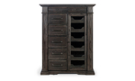 Modern but classic chest that stands  inches tall.