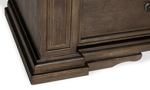 Crown molding and fluted trim accents on the Coopers Beach chest.