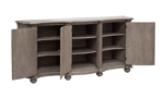 Fit all of your fine china in the Ella Grey Credenza from Pulaski Furniture.