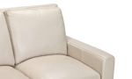 Luxurious loveseat made with top quality features.