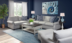 The Carolina Custom Collection is handmade in America with fade and stain resistant fabric.